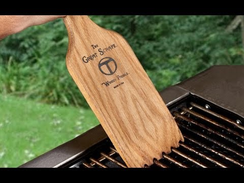 The Great Scrape - Barbeque Cleaning Tool