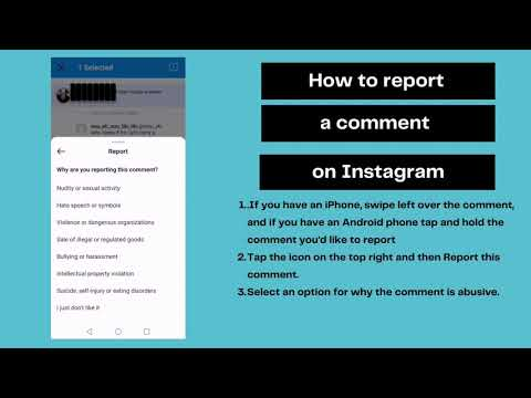 How To Report A Comment On Instagram