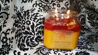 Fire Bling Candles: Mango Peach Salsa Reveal!