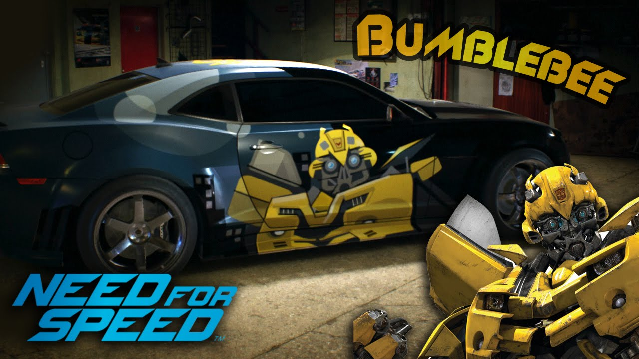 Need For Speed 2015 Vinyl Design Transformers Bumblebee