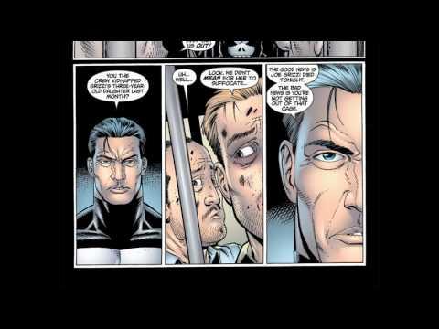 Punisher 001  2001 #comic book