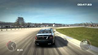 Race Driver GRID 2 HD Gameplay Test Drive Mercedes Benz C63 AMG