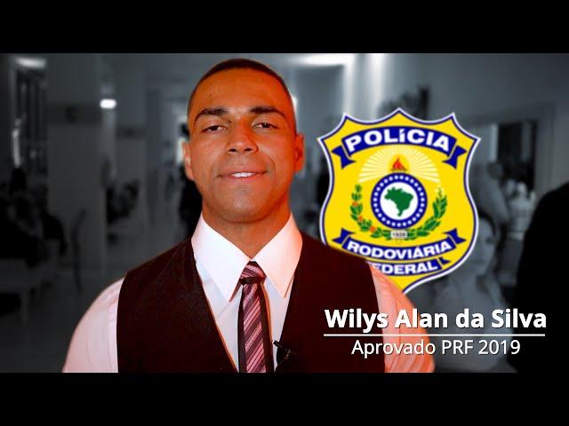 """""""Tive várias reprovações, mas isso não me fez desistir"""" - Wilys da Silva, aprovado PRF - AlfaCon"""
