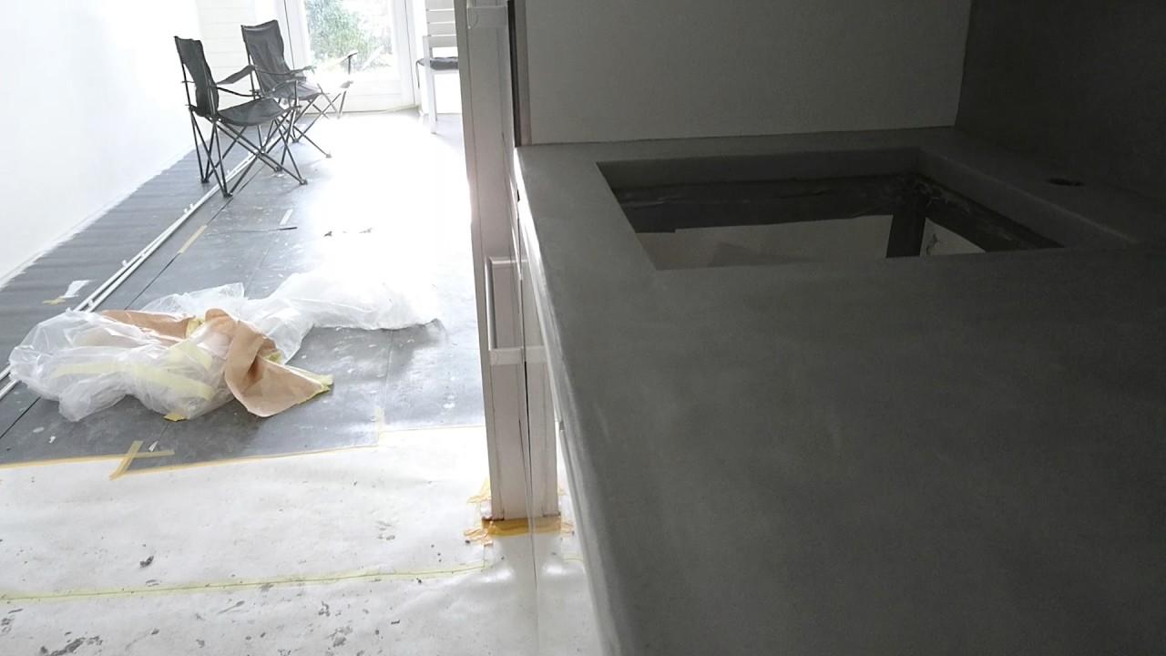 Beton Cire Keuken : Beton cire keuken beton ciré centrum