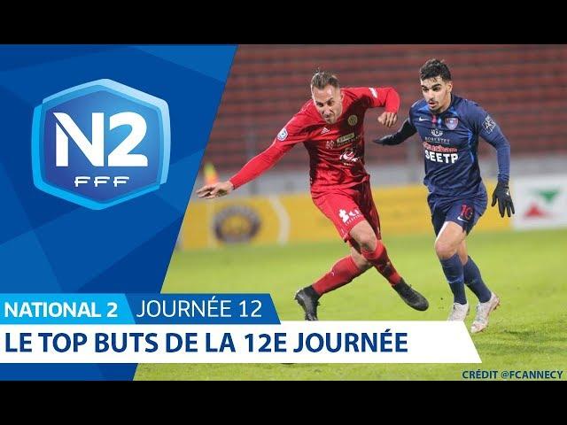 National 2, journée 12 : le top buts I FFF 2019-2020