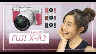 Fuji X-A3 กล้อง mirrorless แห่งปีที่สาวๆรอคอย! (Eng Sub) [Unbox] | เฟื่องลดา