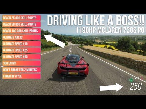 Forza Horizon 4 DRIVING LIKE A BOSS!! – 1190HP Mclaren 720S PO