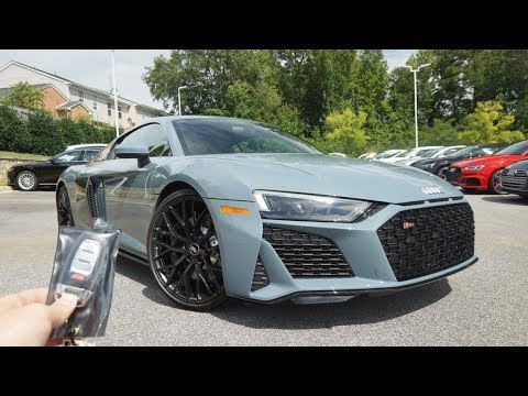 2020 Audi R8 V10 Quattro: Start Up, Exhaust, Test Drive and Review