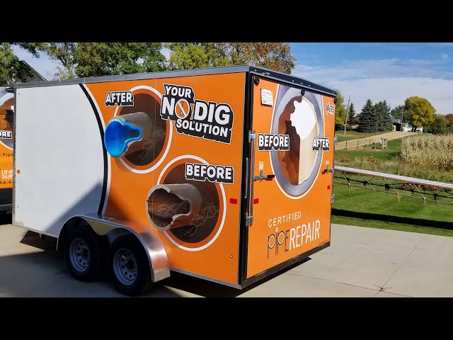 2021 Pipe Lining Supply Trailer