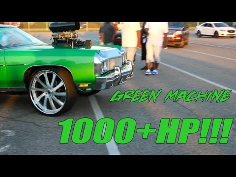1000+hp Mean Green Miami Donk