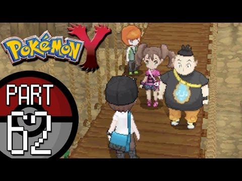 Pokemon X and Y - Part 62: Route 19 | Battling Shauna, Tierno, and Trevor To Get HM05 Waterfall!