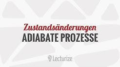 Adiabate Prozesse / Zustandsänderung [GdT] [DE]