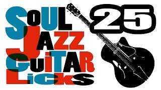 25 soul jazz, blues, hard bop guitar licks | eBook PDF | Guitar lessons