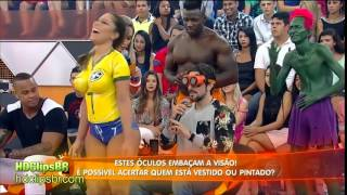 vuclip Brazil Football Soccer Body Paint Girl