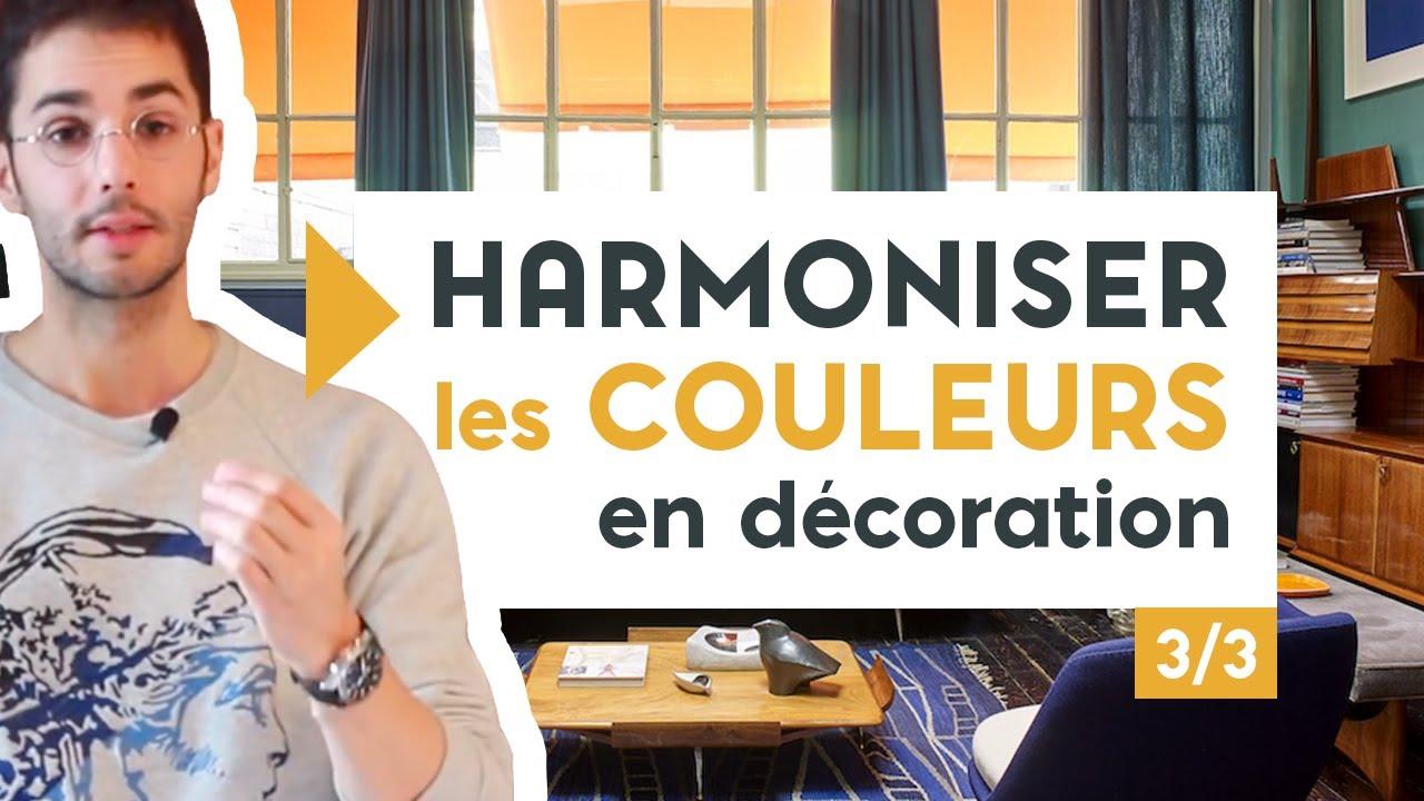 bien assortir les couleurs en decoration 3 3 youtube. Black Bedroom Furniture Sets. Home Design Ideas