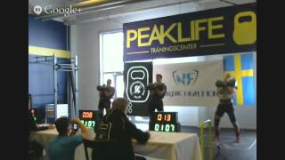 Swedish Championships 2015 - Kettlebell Sport (Biathlon)