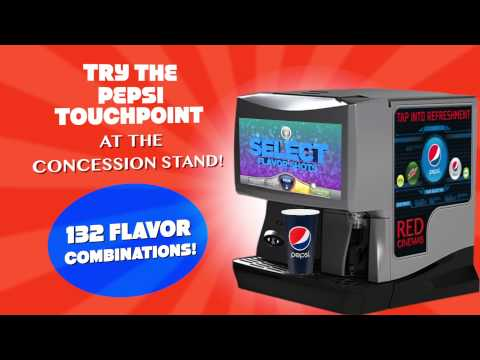 RED Cinema's Pepsi Touchpoint System