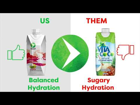 Greater Than Sports Drink Vs. Vita Coco Coconut Water: Which Would You Choose? V2