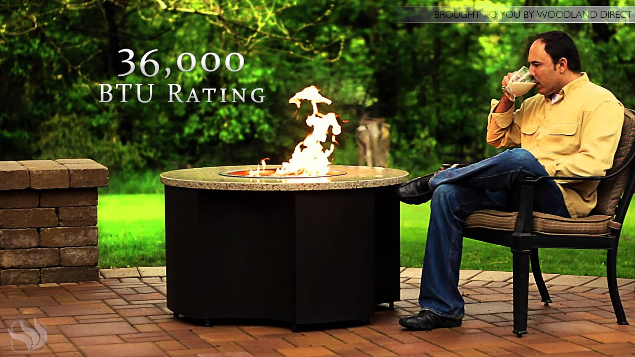 Inspiration Gas Fire Pit Table