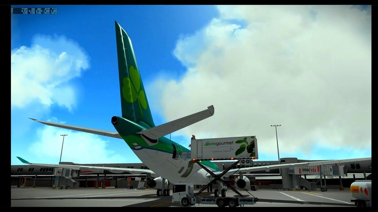 [X-Plane 10] JAR A330 Custom sound pack - EGLL / EIDW by Xplane Junkie