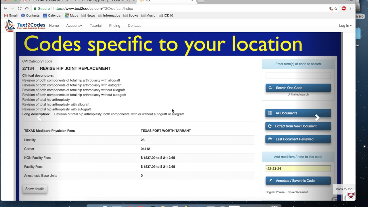 Introduction Medical Billing Codes Icd 10 Cpt And Physician Fees