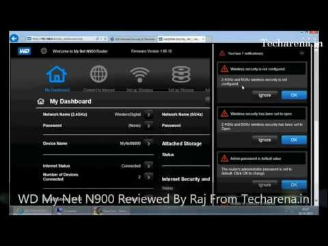 Wd My Net N900 Review And Tutorial - YT
