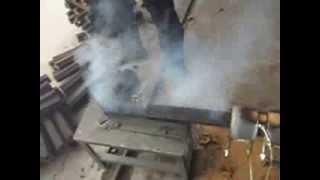 Wood Briquette Making Machine