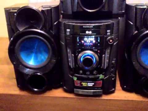 Equipo de m sica lg modelo mct705 740rms youtube - Equipo musica casa ...