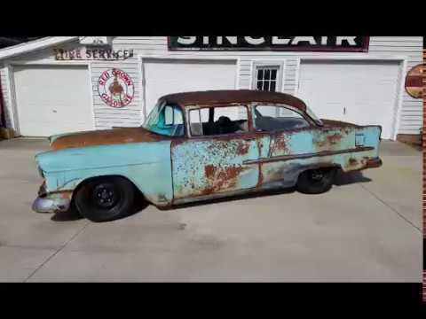 1955 Chevy Belair rat rod
