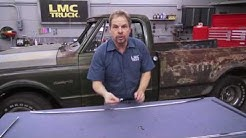 How to Replace and Install Front & Rear Glass in 1967-1972 Chevy Trucks - Kevin Tetz with LMC Truck