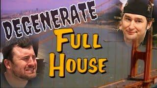 Degenerate Full House! Joey is Phil Hellmuth (Gambling Vlog #18)