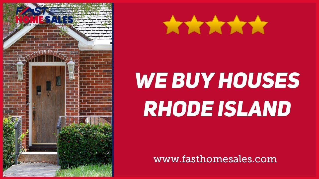 We Buy Houses Rhode Island - CALL 833-814-7355