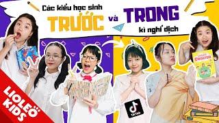 """Các kiểu học sinh TRƯỚC & TRONG kì nghỉ dịch - Chôm Chôm hóa """"nhà sư"""", Linh Chi lột xác ngoạn mục ?!"""