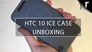 hTC 10 Ice View Case Unboxing and Hands-on Review