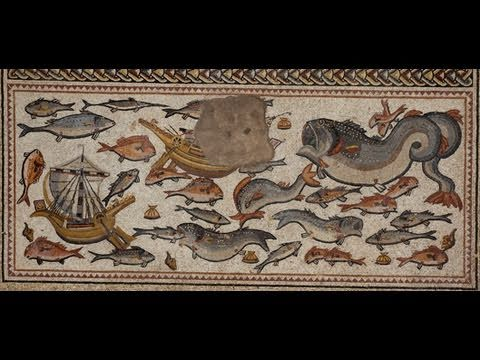 The Discovery of an Ancient Roman Mosaic