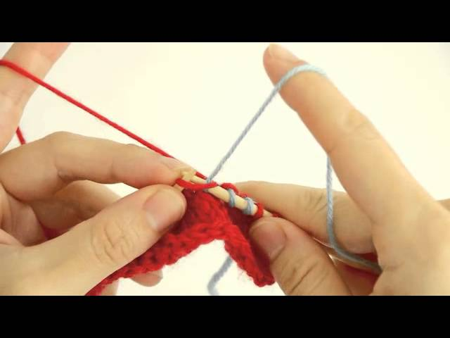 How to knit colourwork for beginners