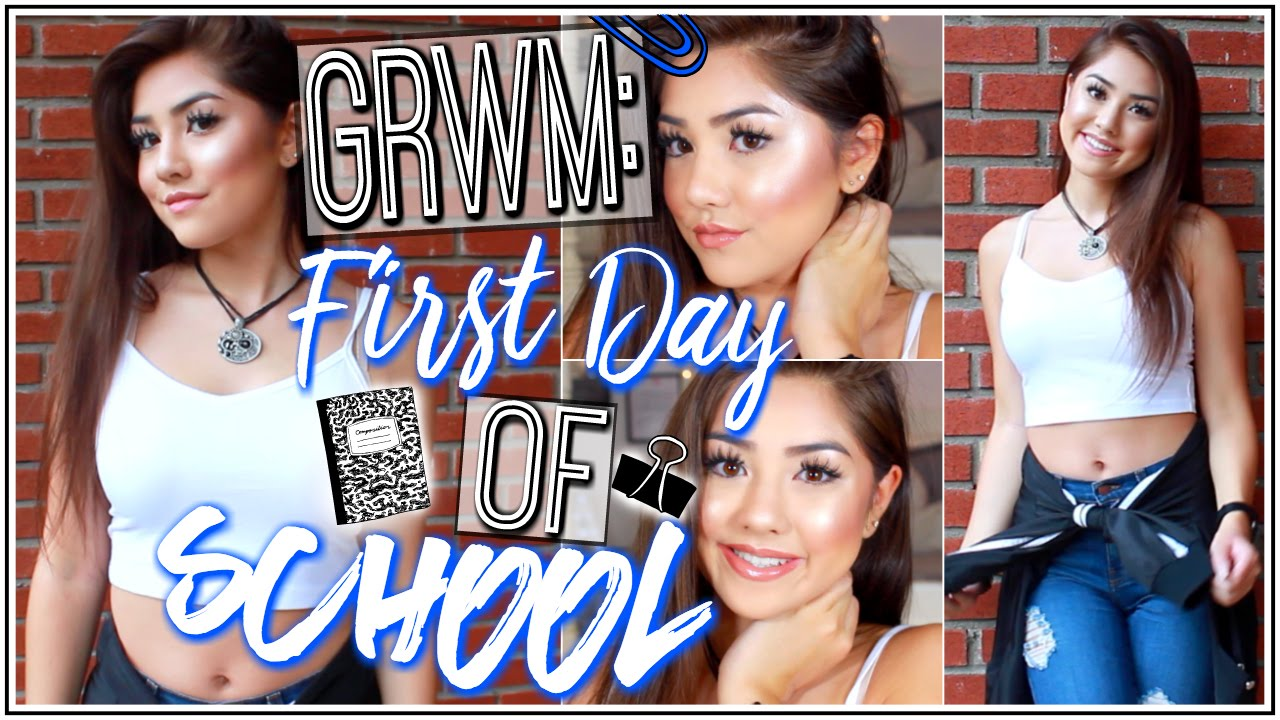 Grwm First Day Of School Senior Year Makeup Outfit Xlivelaughbeautyx Youtube The film touches on the issue of prevention of suicide. youtube