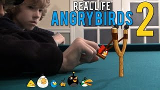 Repeat youtube video Real Life Angry Birds 2