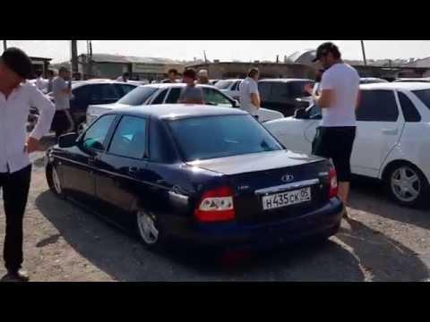 Авто-рынок в Дагестане.