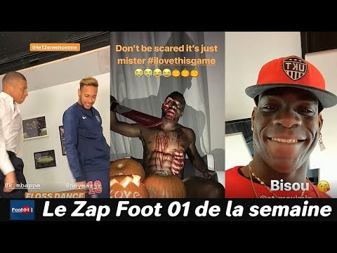 Mbappé et Neymar les potos du PSG, Halloween en L1, Memphis toujours bavard