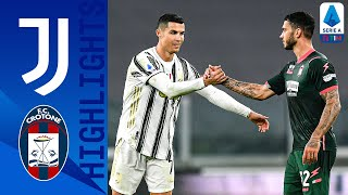 Juventus 3-0 Crotone | Ronaldo Hits a Brace as Juve Too Strong for Crotone! | Serie A TIM