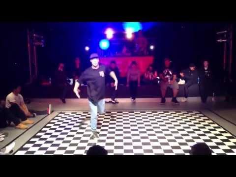 The All Stylez Popping Semi finals Poppin Drew vs Kenpachi