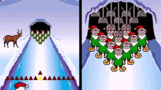 Elf Bowling 1  and  2  Game 1 (GBA) - Vizzed.com GamePlay