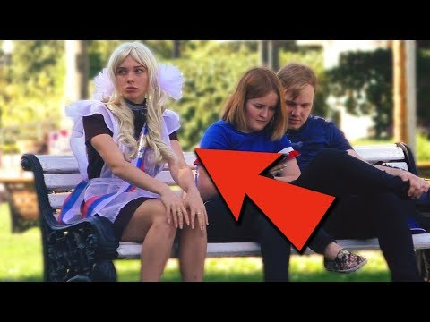 ПОШЛАЯ ШКОЛЬНИЦА / ПРАНК (странные разговоры по телефону) thumbnail