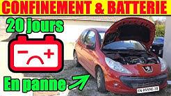 Confinement : éviter la panne de batterie de voiture, (tester, entretenir, démarrer)