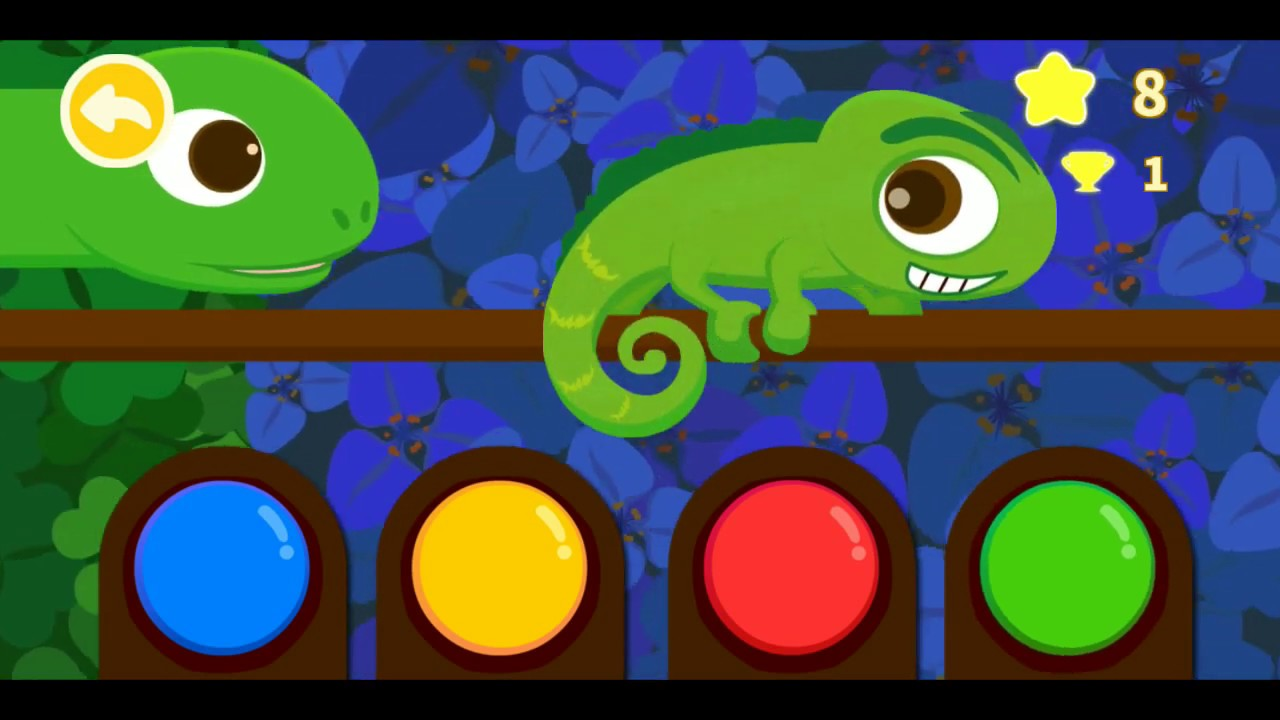 Kartun Bunglon Harimau Burung Pelatuk Main Game Anak Tk Seru Youtube