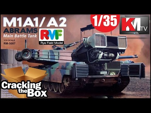 Rye Field M1A1/A2 Abrams with Interior!