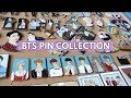 MY BTS ENAMEL PIN COLLECTION!