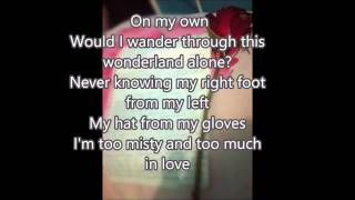 Gambar cover Kenny Rogers - Misty (lyrics) HD