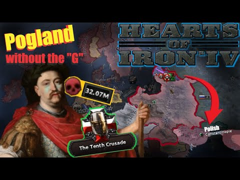 """Download HOI4 Empire Mod!   Poland Conquers Constantinople   Pogland without the """"G"""" 😢"""